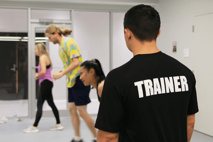 Trainer with members