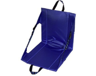Photo of blue foldable stadium chair