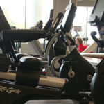 Photo of accessible stationary bike