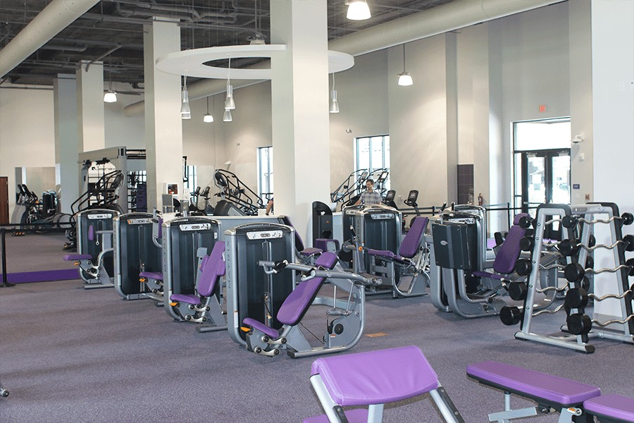 Some of the fitness equipment inside of our Nicholson Gateway facility.