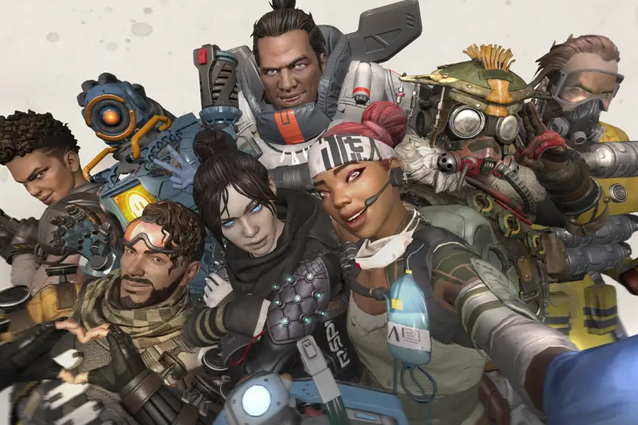 Apex League Characters.