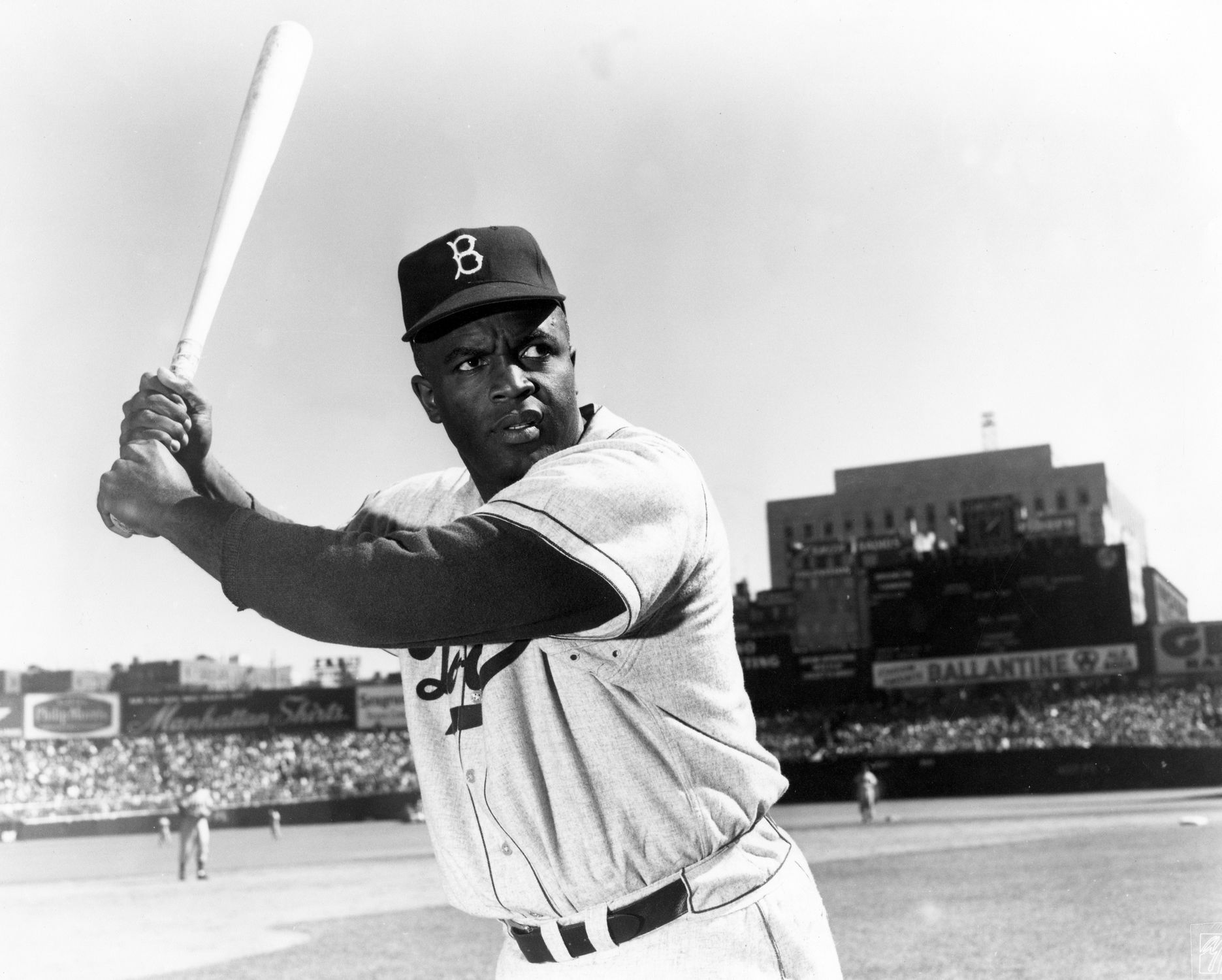 Picture of Jackie Robinson.